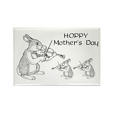 Hoppy Mother's Day Rectangle Magnet