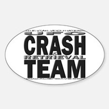 C & R Team Oval Decal