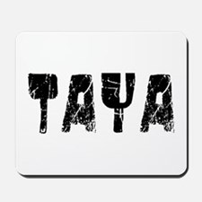 Taya Faded (Black) Mousepad