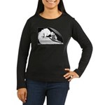 Faust 204 Women's Long Sleeve Dark T-Shirt
