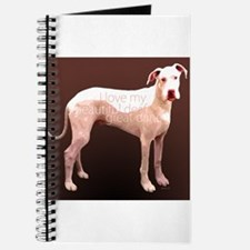 Great Dane Deaf Love Journal