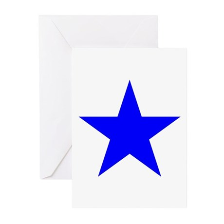 Blue Star Greeting Cards (Pk of 10)