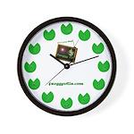 Froggy TV Wall Clock