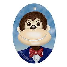 Monkey - Ornament (Oval)