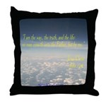 John14:6 Throw Pillow