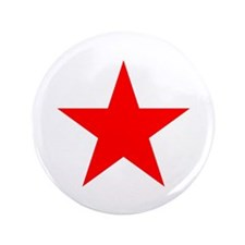 """Red Star 3.5"""" Button"""