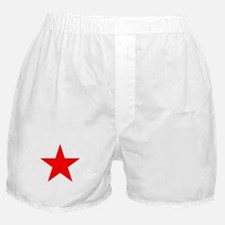 Red Star Boxer Shorts