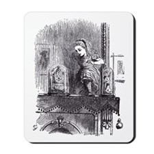 Looking Glass Back Mousepad