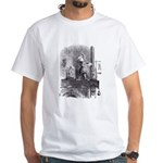 Looking Glass Back White T-Shirt