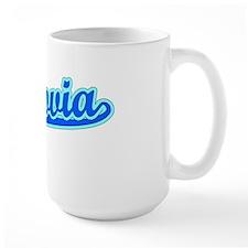 Retro Monrovia (Blue) Mug