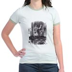 Looking Glass Front Jr. Ringer T-Shirt