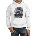 Looking Glass Front and Back Hooded Sweatshirt