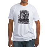 Looking Glass Front and Back Fitted T-Shirt