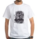 Looking Glass Front and Back White T-Shirt