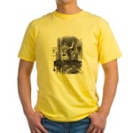 Looking Glass Front and Back Yellow T-Shirt