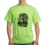 Looking Glass Front and Back Green T-Shirt