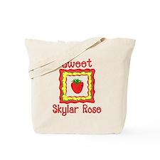 Sweet Skylar Rose Tote Bag