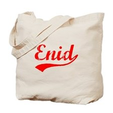 Vintage Enid (Red) Tote Bag