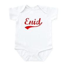 Vintage Enid (Red) Infant Bodysuit