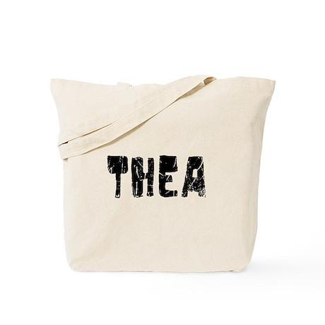 Thea Faded (Black) Tote Bag
