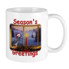 Timneh African Grey Christmas Coffee Mug