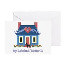 Lakeland Terrier Home Greeting Card