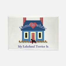 Lakeland Terrier Home Rectangle Magnet (10 pack)