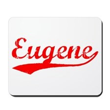 Vintage Eugene (Red) Mousepad