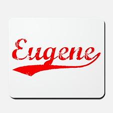 Vintage Eugene (Red) Mousepad