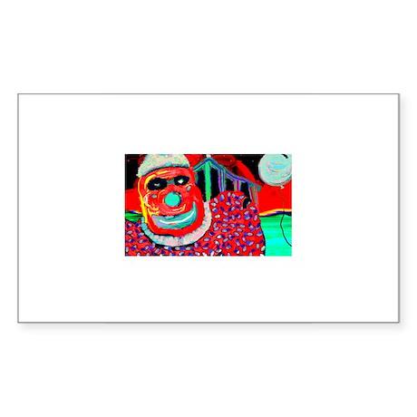 April Fool 3 Rectangle Sticker
