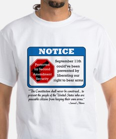 notice_2nd_white T-Shirt