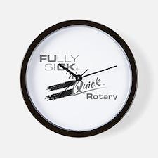 Love Is @ 9000 RPM Wall Clock