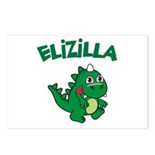 Elizilla Postcards (Package of 8)