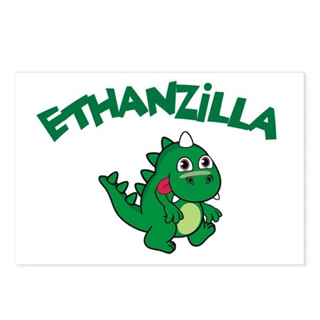 Ethanzilla Postcards (Package of 8)
