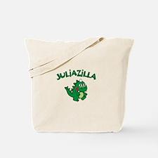 Juliazilla Tote Bag