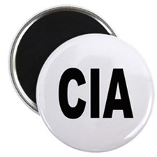 """CIA Central Intelligence Agency 2.25"""" Magnet (10 p"""