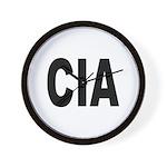 CIA Central Intelligence Agency Wall Clock