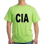 CIA Central Intelligence Agency Green T-Shirt