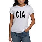 CIA Central Intelligency Agency (Front) Women's T-