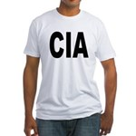 CIA Central Intelligency Agency (Front) Fitted T-S
