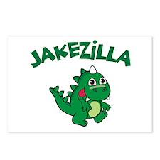 Jakezilla Postcards (Package of 8)