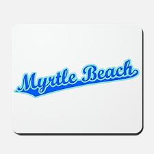 Retro Myrtle Beach (Blue) Mousepad