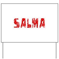 Salma Faded (Red) Yard Sign