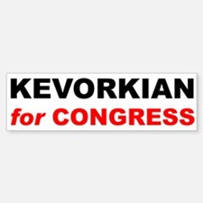 KEVORKIAN for CONGRESS Bumper Bumper Bumper Sticker