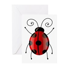 Essential Ladybug Greeting Cards (Pk of 10)