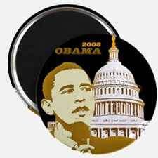 Obama/Capitol Magnet