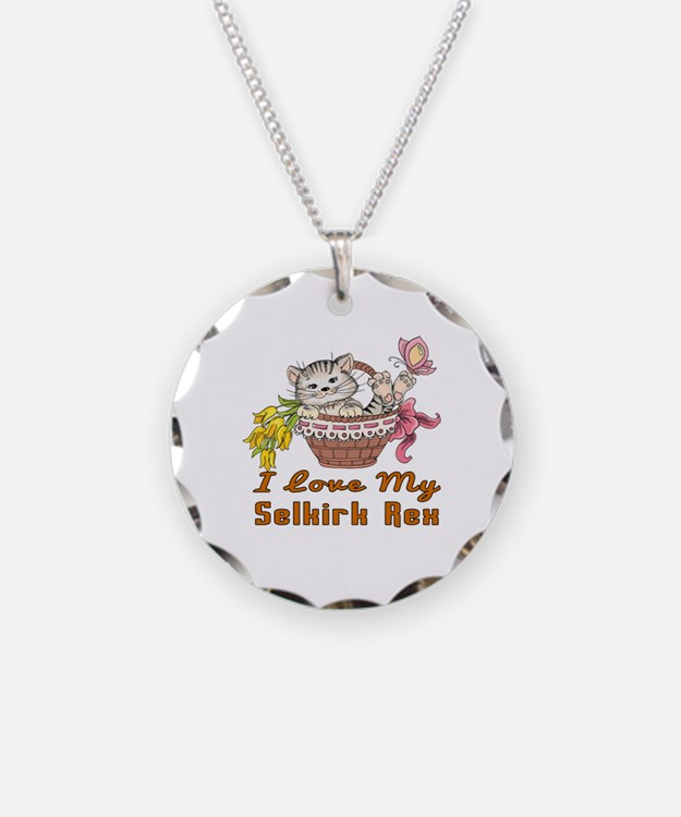 I Love My Selkirk Rex Design Necklace
