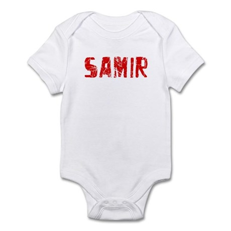 Samir Faded (Red) Infant Bodysuit