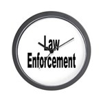 Law Enforcement Wall Clock