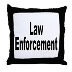 Law Enforcement Throw Pillow